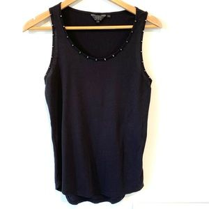 Guess | studded black loose fit camisole
